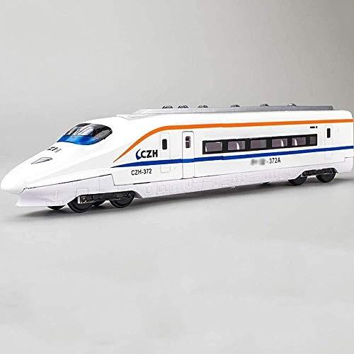 Zeyujie Alloy car Harmony EMU Head Train Subway Train high-Speed Rail car Model Children's