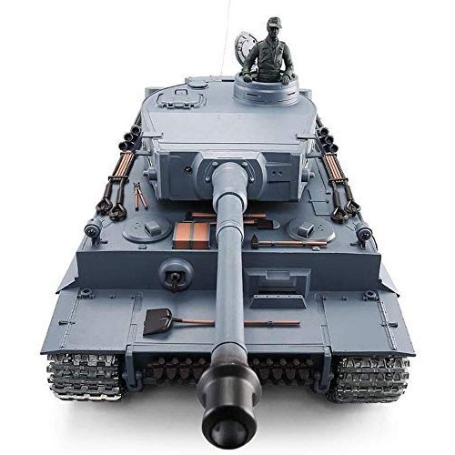 Tank Radio Remote 24G System + Metal Gear Box + Metal Tracks Version –