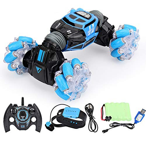 ZH Toy Vehicles Kids' Electronics Gesture Sensing Remote Control Car Twisting Car Luminous Wheel