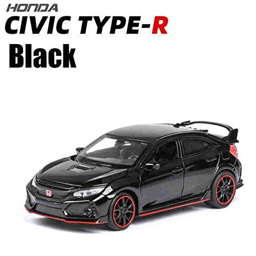 1:32 Honda Civic Type-R Diecasts & Toy Vehicles Metal Car Model Sound Light Collection