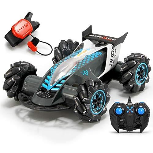 ZH Toy Model Electric Children Vehicle 24G Spray Remote Control Stunt Car Children Gesture