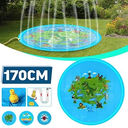 Sprinkler for Kids Sprinkler Play Mat Wading and Learning Outdoor Inflatable Sprinkler Water Toys
