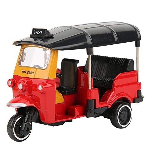 Zerodis Tricycle Car Toy Highly Simulation Children Vehicles Toy with Sliding Function Alloy Kids