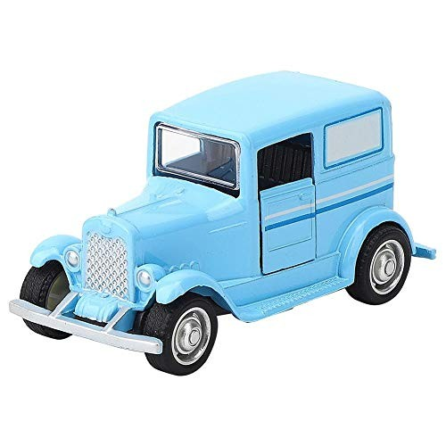 YOUTHINK Toy Vehicles Durable Alloy Car Toy Vintage Simulation Vehicle Model Children Kid Pull