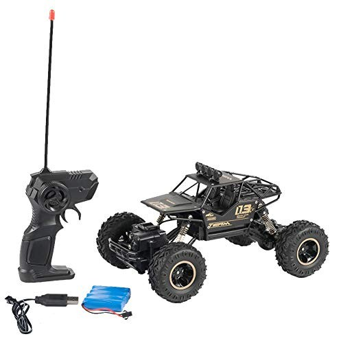 CURESECRET 1/16 Monster Remote Control Vehicle Shaft Drive RC Truck Off-Road Racing Car RC