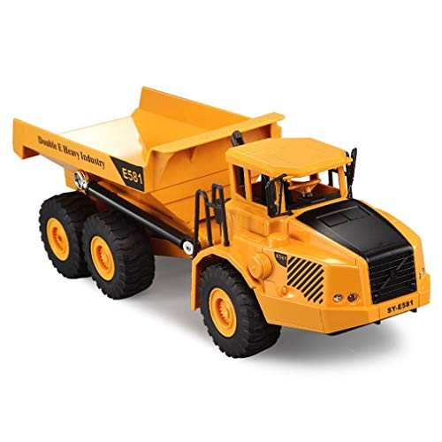 brandless Remote Control car40cm Rc Dump Truck Model Remote Control Dumper Toy Rc Engineering