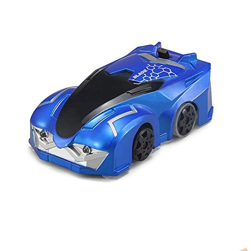 brandless Remote Control car10cm Rc Wall Climbing Vehicle Infrared with Lights Rotation Model Car