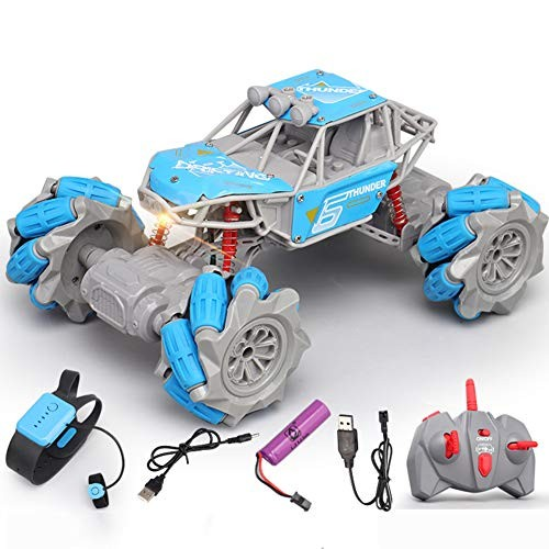 ZH Toy Electric Children Vehicle Gesture Remote Control Car Gravity Sensor Four-Wheel Drive Off