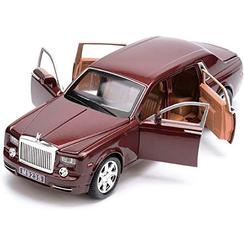 YLJJ Model Car Car Model Simulation Six Door Sound and Light Music Back to