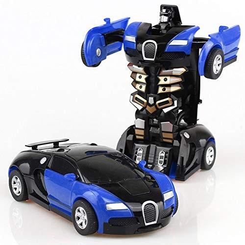 Luck Baby Children's Toy Deformation Car Impact Deformation Car Robot Deformation Toy Car Suitable
