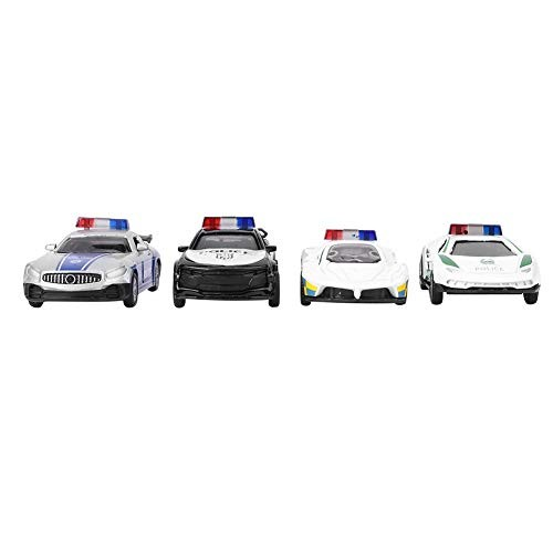 YOUTHINK Toy Vehicles 4PCS 1/60 Alloy Durable Sports Car Model Toy Simulation Children Kid