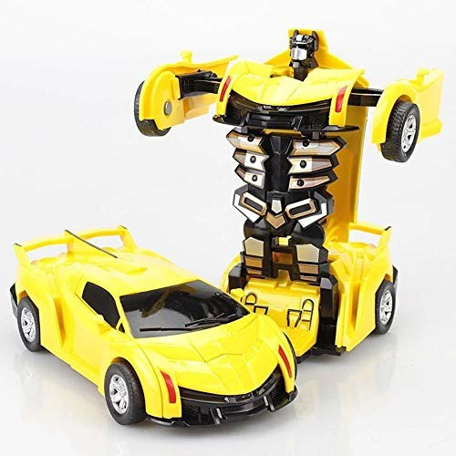 DUOUH One-Key Deformation Car Toys Automatic Transform RobotPlastic Model CarDiecasts Toy Boys Gifts Kid