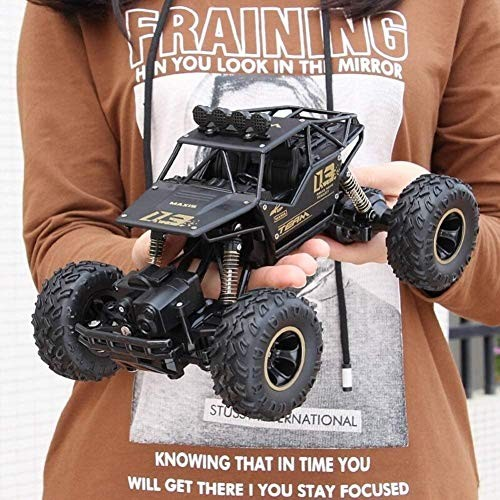 JFDKDH Vehicle Off Road Truck Electric Racing Rock Crawlers Rechargeable 4WD Radio Control Cars