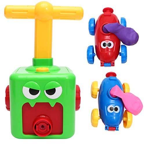 Toyvian 1pcs Cretive Balloon Car Toy Inertia Car Toy Press Control Car Toy Creative