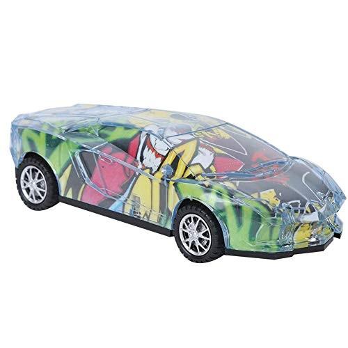 Electronic Vehicle Toy Cool Mini Car Toy Simulation Universal Wheel with LED Light Vehicle
