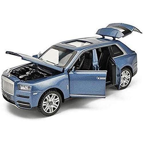 YLJJ Model Car 1:24 Alloy Car Model Sound and Light Pull Back Toy 7