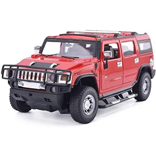 YLJJ Model Car Model Car Hummer H2 Off Road Vehicle 1:18 Children's Toy Alloy