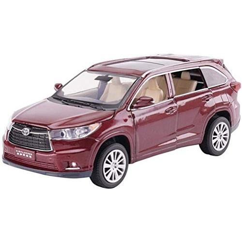 YLJJ Model Car Model Car Simulation Overbearing 1:32 Children's Toy Wine Red/Black/White Gift for