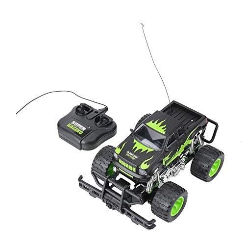 Dilwe 1/18 4CH Remote Control Car Electric Off Road Model Car Toy Vehicle Crawler