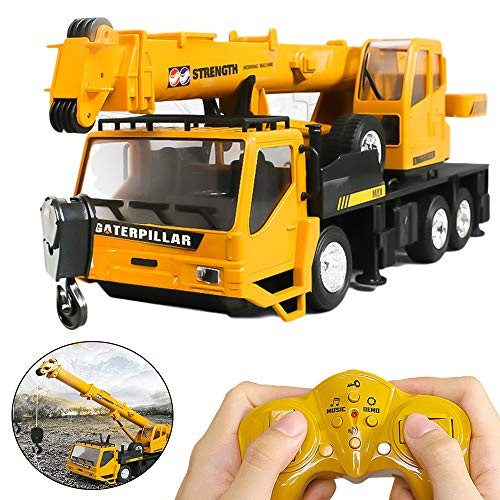 RC Trucks Crane Model Engineering Car with Up Down Lift Control 8 Channel Engineering