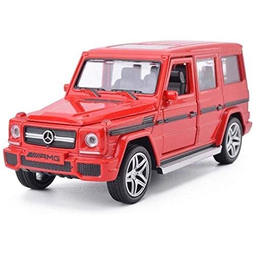 YLJJ Model Car Model Car G65AMG Children's Toy Alloy Simulation Open Door Sounds G65