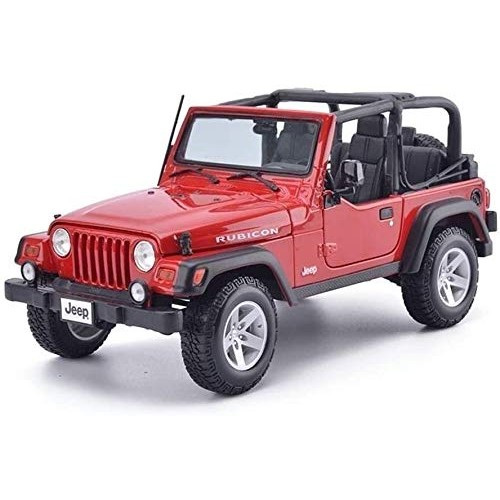 Zhangl 1:18 Off-Road Vehicle Simulation Alloy Car Model Kids Play Vehicle Toys Collection Decoration
