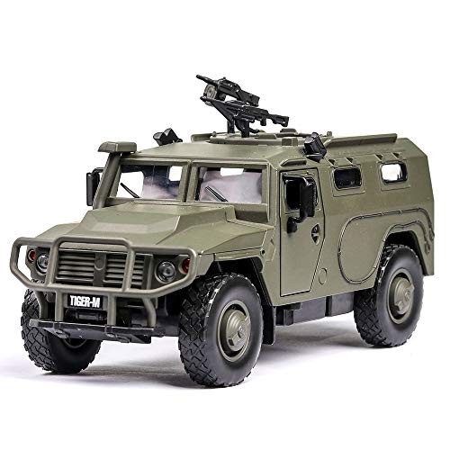 1:32 Russia Explosion Proof Armored Vehicle with Sound and Light High Simulation Alloy Toy