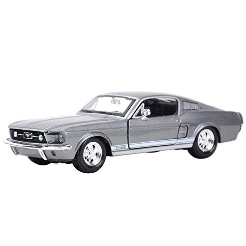 Logo Maisto 1:24 1967 Ford Mustang GT Sports Car Static Die Cast Vehicles Collectible