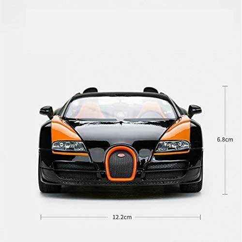 Logo Bugatti Express Alloy Simulation Boy Toy Car Static Car Model 1:18 Toys