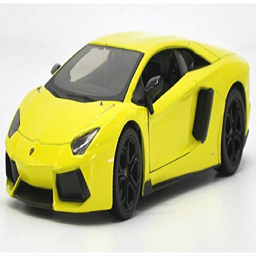 Logo Sport Car Vehicle Diecast Display Metal Alloy Collectible Model Children Boys Kids Toy