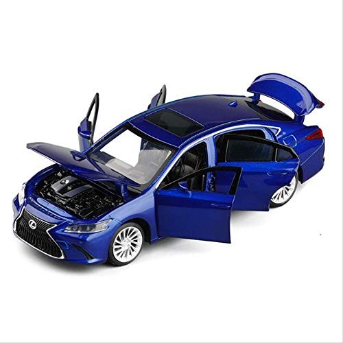 High Simulation Lexus Es300 Alloy 1/32 Vehicle Collection Model Sound and Light Toy Car