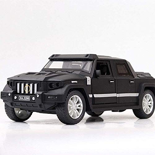 Zhangl Boxed Battle Shield Model Simulation Alloy Car Toy Off-Road Vehicle Armored Vehicle Kids