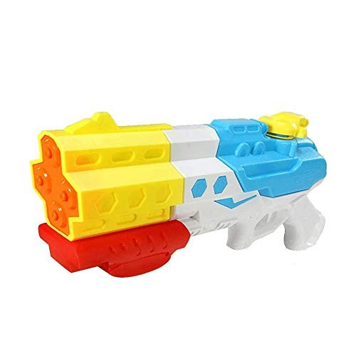 Bdesign Water Gun Soaker 4 Nozzles Water Pistol High Capacity 1800Ml Squirt Gun 12M
