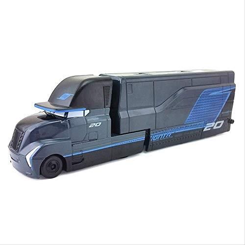 Disney Pixar Cars 3 Jackson Storm's Transforming Hauler Plastic Toy Car 1:55 Loose in
