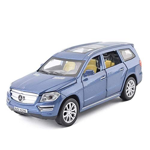 LNNZPL Car Model Simulation Six Door Sound and Light Music Back to The Alloy