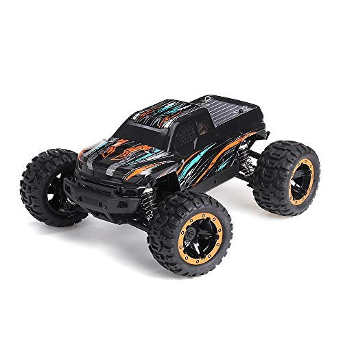 Radio Control Car 45km/h Brushless Motor with Led Light Electric Off-Road Car RTR Toys