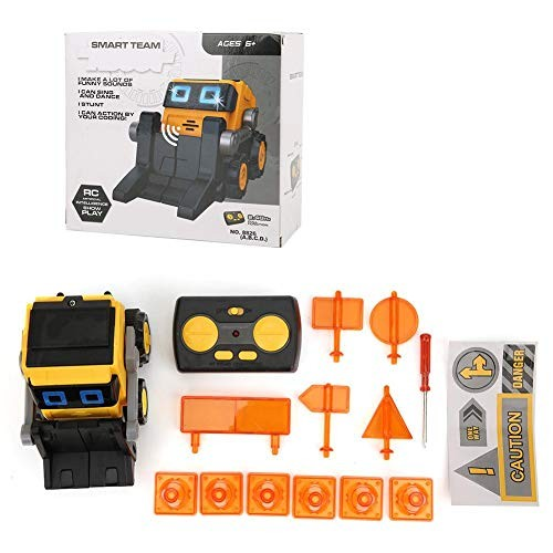 YOUTHINK 24GHz Engineering Car Toy Remote Control Engineering Vehicle Children Toy to Build Your