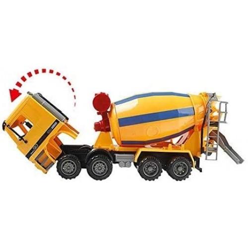 Zhangl Mixer Toys Mini High Simulation Stirring Car Toy Engineering Model Vehicle Model Parent-Child