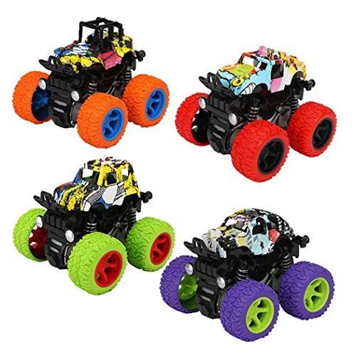 Ruior Inertia Four-Wheel Drive Vehicle Climbing Simulation Car Toy Model Toy Organizers