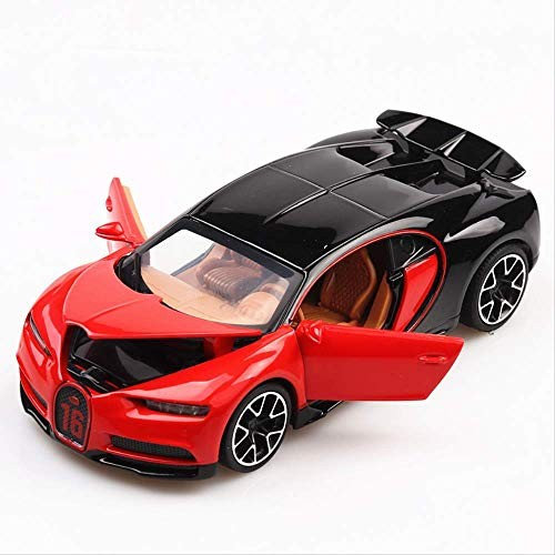 Logo 1:32 Toy Car Bugatti Chiron Metal Toy Alloy Car Diecasts & Toy Vehicles