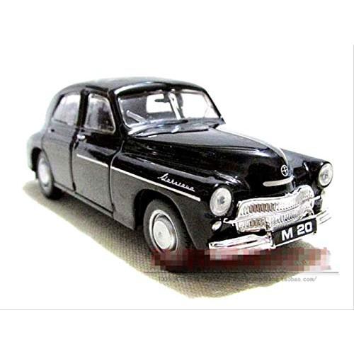 Logo 1:43 Alloy car Warsaw Sedan high Simulation car Model Metal diecasts Coasting The