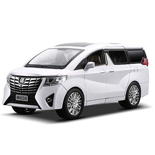New 1:24 1:32 Toyota Alphard Luxury Business Car Model Alloy Pull Back Diecasts Toy