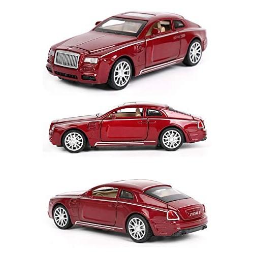 Logo 1:32 Toy Car Rolls-Royce Super Car Metal Car Diecasts Toy Vehicles Car Model