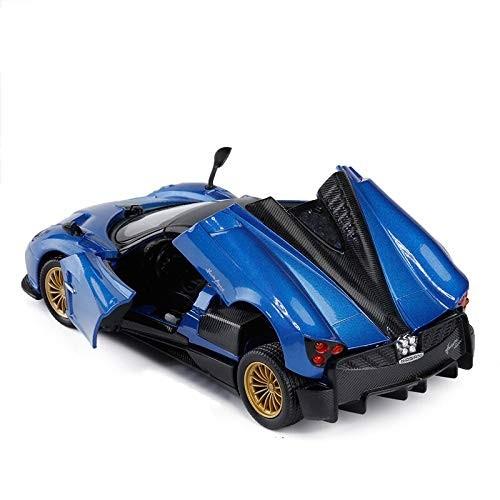 Logo High Simulation 1/32 Pagani Huayra Advanced Alloy Car Model Metal Diecasts Pull Back