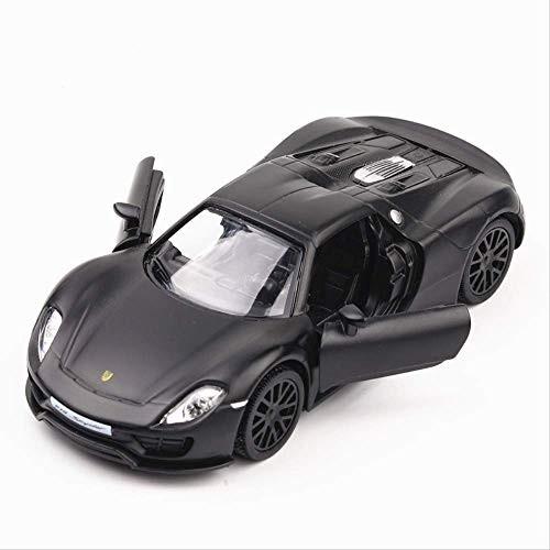 Logo 5 Inch High Simulation Toy Vehicles Diecaste Metal Alloy Car for Porsche 918