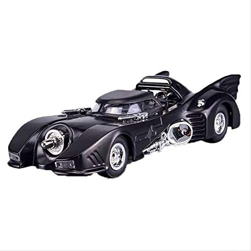 1:36 High Simulation Batman Batmobile Alloy Diecast Toy Vehicle Sound Light Model Pull Back