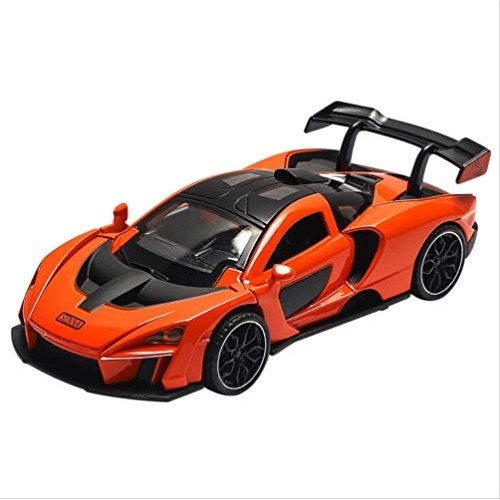 Logo New 1:32 Senna MCLAREN Alloy Car Model Diecasts & Toy Vehicles Toy Cars