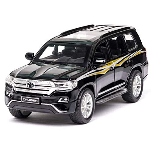 Logo 1/32 Diecasts & Toy Vehicles Prado Car Model with Sound&Light Collection Car Toys
