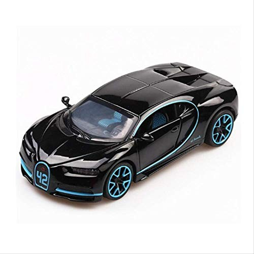 1:32 Alloy Diecast Model Car Bugatti Chiron Diecasts & Toy Vehicles Pull Back Sound
