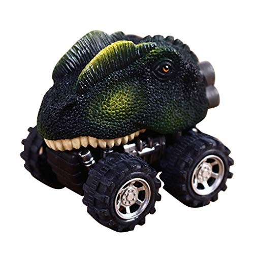 Massimiliano Incas Children's Day Gift Toy Play Vehicles Dinosaur Model Mini Toy Car Back